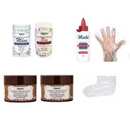 Kit Manicure Creme Hidratante E Esfoliante, Botas, Luvas