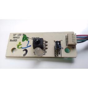 Placa Sensor Ir Cce Tv Led32 Brinde Placa Funções E Teclado