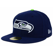 Boné New Era Seattle Seahawks 59fifty Original Novo 1magnus