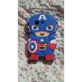 Es Una Funda De Capitán América,(celular Poner Etc)