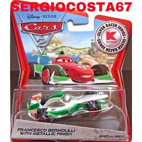 Disney Cars 2 Francesco Bernoulli Metallic Finish +300 Mod