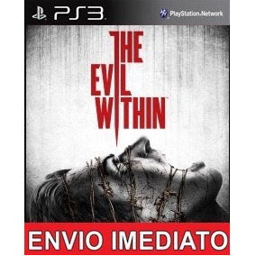 The Evil Within Ps3 Psn Digital Jogo De Terror Automático