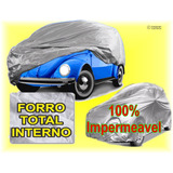 Capa Para Cobrir Fusca Fafa (100%) Forrada Impermeavel