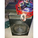 Boofer Xplod 2000w, Pot Explosound Xm3600,cables Instalacion