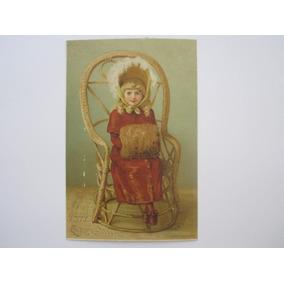 Cartão Postal Antigo Natal