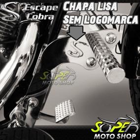 Protetor Motor Mata Cachorro Cobra C/ Pedal Shadow 600 Honda