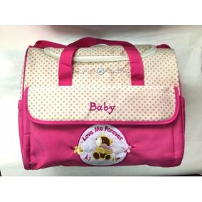 Bolso Maternal Para Bebe Con Cambiador Y Organizador