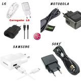 Carregador Celular Samsung Motorola Lg Sony 20 Peças Atacado