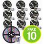 Pack 10 Cinta Tira 300 Led 5mt Rgb Control 5050 / Fernapet