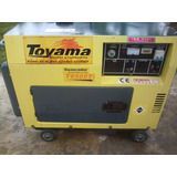 Planta Generador Insonorizada Toyama Tg6500 Cambió Por Sonid