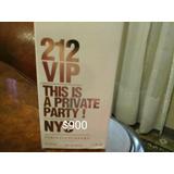 Perfume Importado 212 Vip Mujer