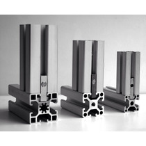 Perfil Estructural 30 X30 De Aluminio Por Metro Lineal