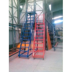 Escalera tipo avion plataforma en mercado libre m xico - Escaleras para almacen ...