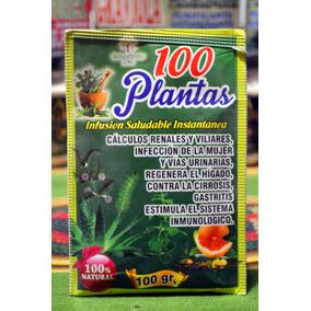 100 Plantas !! Infusión Saludable Instantánea 100 % Natural