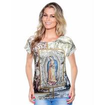 Blusa Nossa Senhora De Guadalupe - Ágape - Promoção