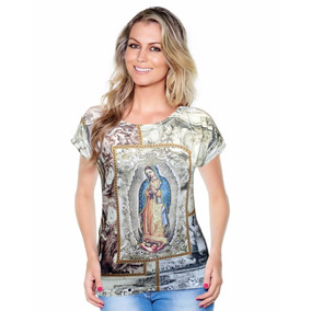 Blusa Nossa Senhora De Guadalupe Sublimação Ágape - Promoção
