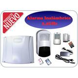 Alarma Inalámbrica 2.4ghz, Barrera Y Detector De Movimiento