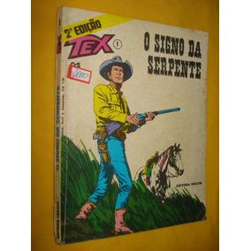 Tex Nº 1 O Signo Da Serpente 2ª Edição Vecchi