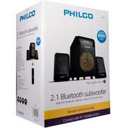 Subwoofer Bluetooth 2.1 Philco B2100 Radio, Usb- Audiomobile