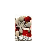 Cajas Set De Bolas Y Figuras Glitter Navideñas 35 Piezas!!!