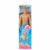 Barbie Summer- Water Play - Ken Traje De Baño Ken En Malla