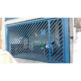 Portão Basculante Manual Azul10 Polegadas Medindo 470x250.