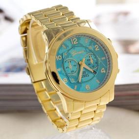 Relogio Michael Kors Azul Turquesa - Relógio Feminino no Mercado ... 78bd1f2e7e