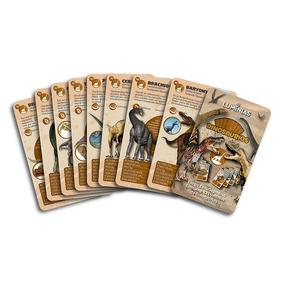 Dinosaurios Naipes Cartas Aprendizaje Luminias Giro Didáctic