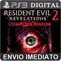 Resident Evil Revelations 2 Ps3 Psn Completo Legenda Br