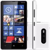 Nokia Lumia 820.1 Preto Novo Com Nf Garantia Desbl.