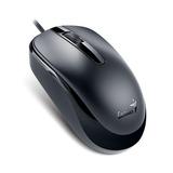 Mouse Genius Dx-120 1000 Dpi 1.5m Nuevo Sellado - Negro