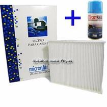 Kit Filtro Cabine Corolla + 1 Higienizador Clean Mil Mp 740