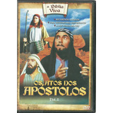 Dvd A Bíblia Viva - Os Atos Dos Apóstolos Vol 1