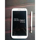 Ganga Samsung Galaxy Note Ii + Envio Gratis