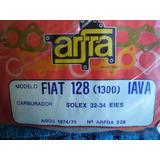 Juego Juntas Carburador Solex 32-34 Eies Fiat 128 1300 Iava
