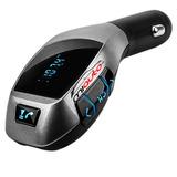 Receptor Bluetooth Transmisor Fm Llamada Cargador De Auto