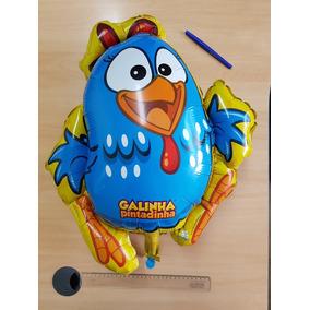 Balão Galinha Pintadinha 60cm Original Licenciado +inmetro