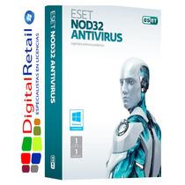 Licencia Eset Nod32 Antivirus V9 3 Año X 5 Pc Original