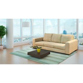 Sofa De Couro 3 Lugares | Milao 2,20m