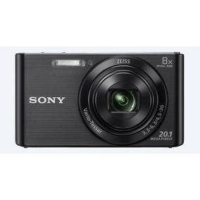 Camera Digital Sony Dsc W830 Preta 20.1mp 8x Zoom Optico