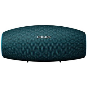Caixa De Som Bluetooth Philips Everplay Bt6900a Azul Ipx7