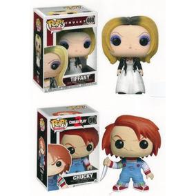 Funko Pop Horror Chucky Y Novia Tiffany Set De 2 Figuras