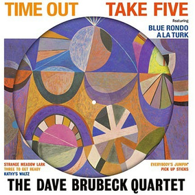 Dave Brubeck Quartet Time Out Vinilo Lp Picture Nuevo Stock