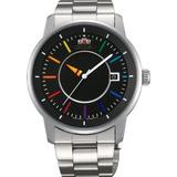 Orient Reloj Elegante Y Inteligente Del Disco Del Arco Iris