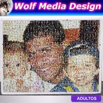 Cuadro Mural 50x60 Muchas Fotos Fotomosaico Personalizado
