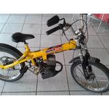 Bicicleta Com Motor, Wmx Bickelete, Wind 50cc 2 Tempos
