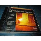 Cd Secretos De Familia Cuti Roberto Peteco Roxana Carabajal