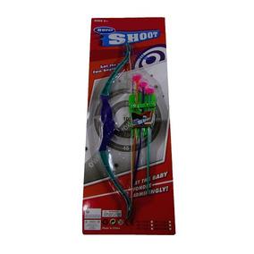 Ab7195 - Brinquedo De Arco E Flecha De Plástico Super Shoot