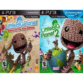 Little Big Planet 1 Y 2 Ps3 Digital Original 2 Al Precio De1