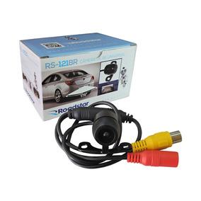 Câmera De Ré Universal Rs-121br Preta Roadstar